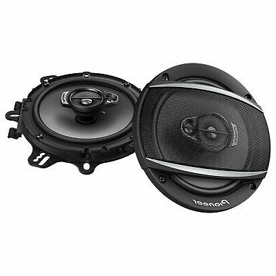 "PIONEER TS-A1677S 6.5-INCH 6-1/2"" CAR AUDIO 3-WAY COAXIAL SP"