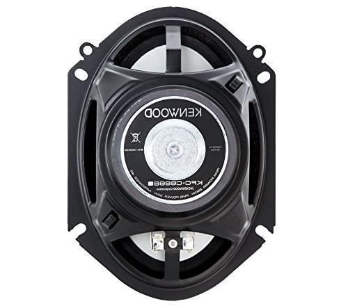 Kenwood KFC‑C6866S 250 Watt Car Speakers -