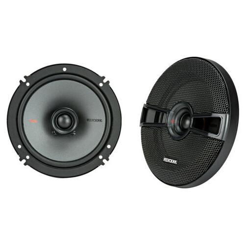 """Kicker 6.5"""" Speakers 1 Pair, Amplifier, Gauge Kit, Speaker"""