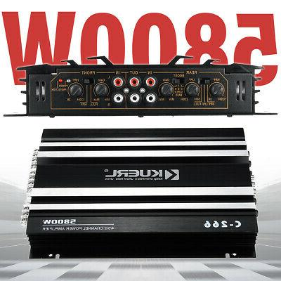 MECO 4 5800W Amplifier Music