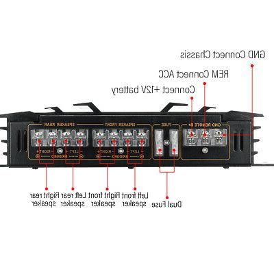 MECO 5800W Music 4 Channel