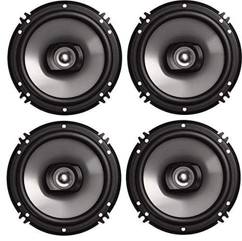 Pioneer MVH-S310BT Android Sync, Digital Premium 2 Way Speaker Bundle/Free ALPHASONIK Earbuds