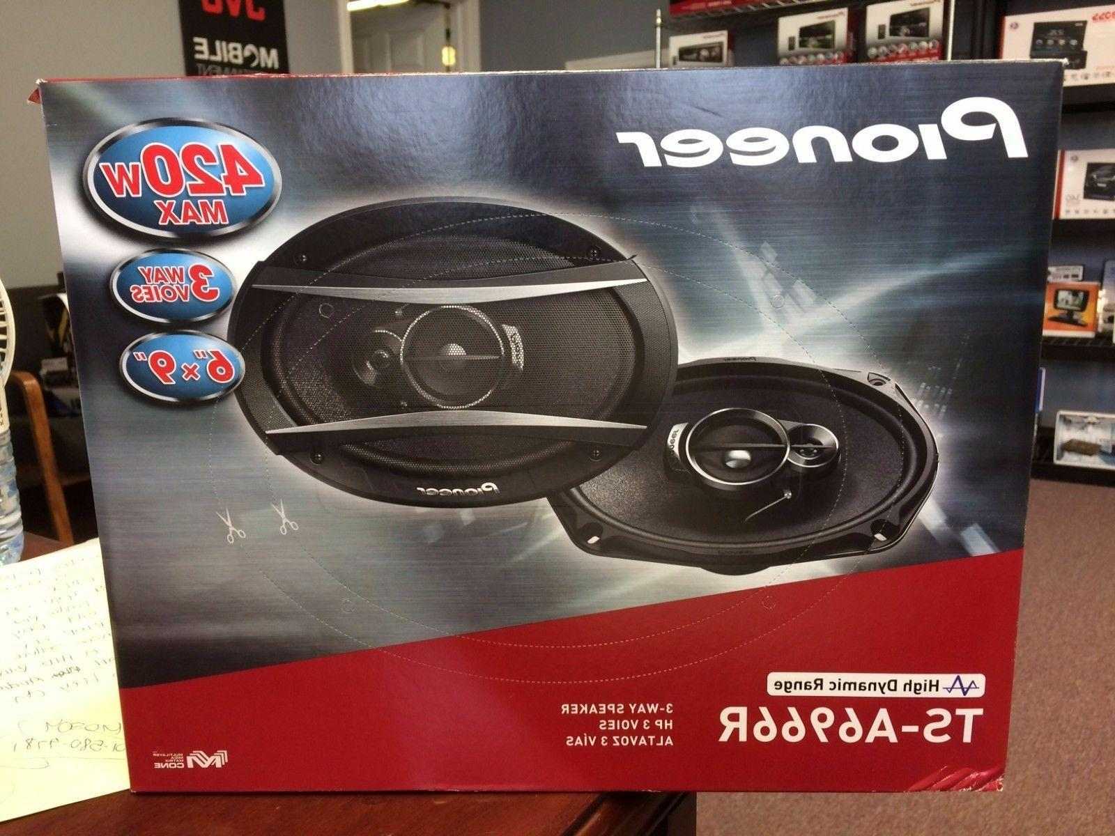 "New Pioneer TS-A6966R 420 Watts 6"" x 9"" 3-Way Coaxial Car Au"