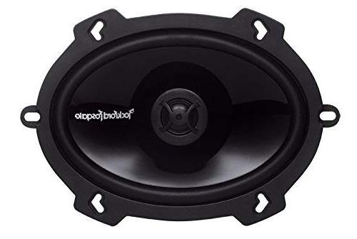 2 Pairs of Fosgate P1572 Series 2-Way Speakers