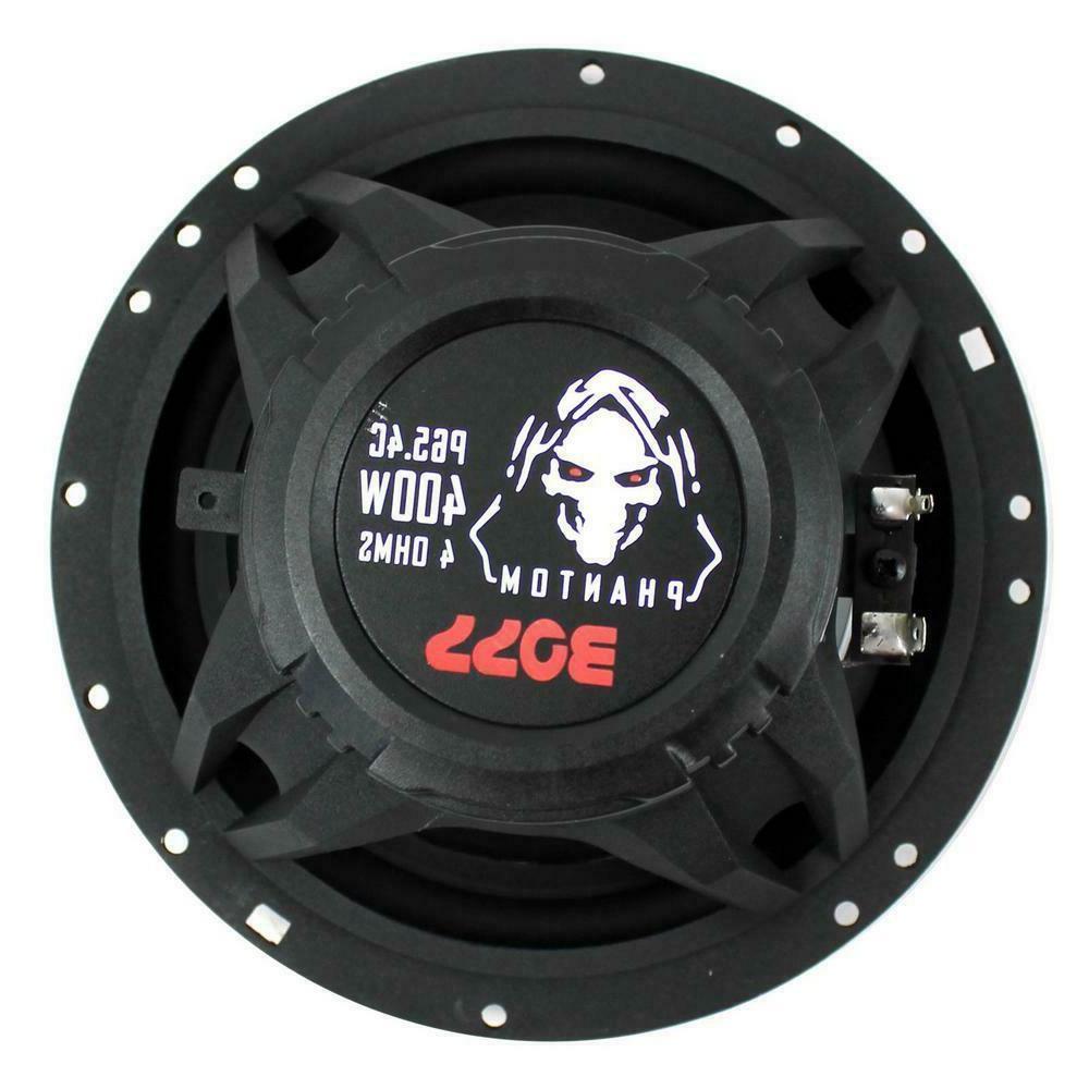 P65.4C 6.5 400-Watt Speakers Stereo P654C