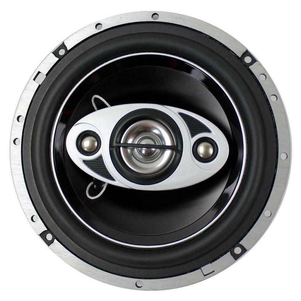 P65.4C 6.5 in. 400-Watt Car Audio Coaxial Speakers Stereo P654C New