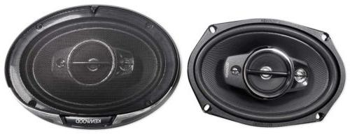 "Pair Kenwood KFC-6985PS 1200 Watt 6x9"" 4-Way Car Audio Speak"