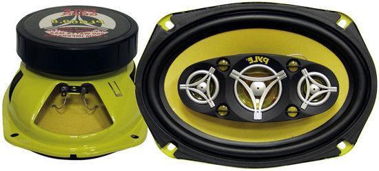 Pair New Pyle PLG69.8 6'' x 9'' 500 Watt Eight-Way Speakers