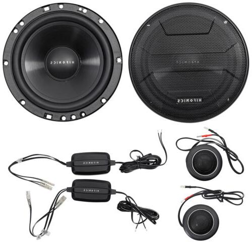 "Pair Hifonics ZS65C 6.5"" 400 Watt Component Car Audio Speake"