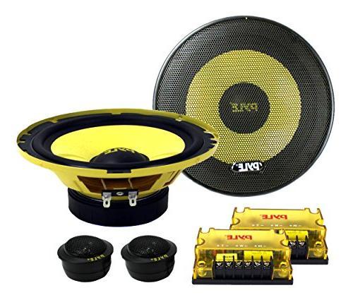 plg6c car audio component speakers