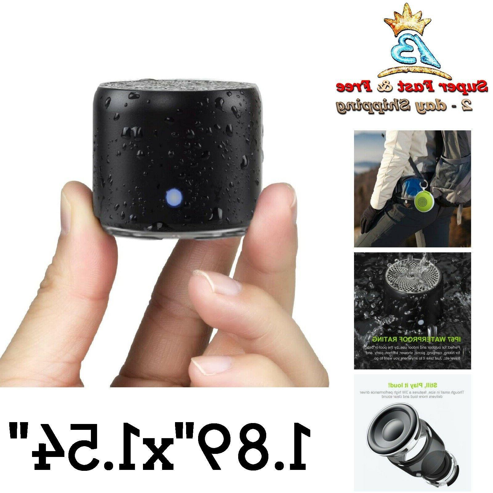 Portable Bluetooth Loud Speakers Mini Travel Speaker For Sho