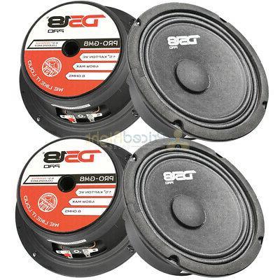 pro gm6 6 5 midrange loudspeakers 8