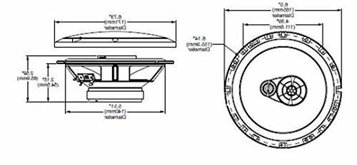 Rockford R165X3 Prime 6.5-Inch Full-Range Coaxial Speaker - Set 2