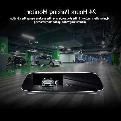 Rearview Car Camera ADAS Dash Cam Video Recorder With Speaker Mic