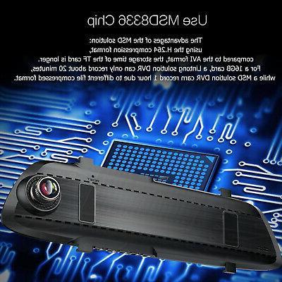 Rearview Mirror Camera ADAS Dash Speaker
