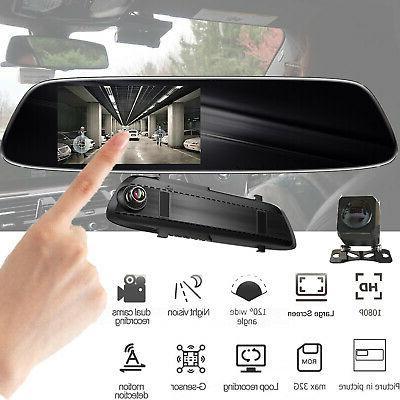 rearview mirror car dvr camera adas car