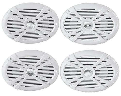 Rockville RMSTS69W 6x9 2000w Waterproof Marine Boat Speaker