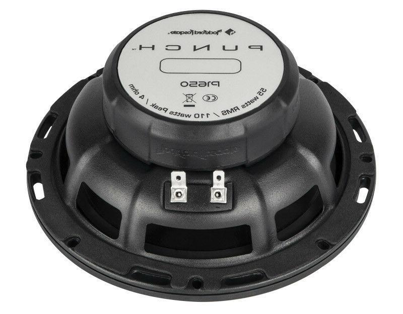 Rockford Fosgate P1650 2-Way Audio Speakers 110 Max