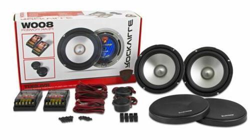 rvl6kit pair component car audio