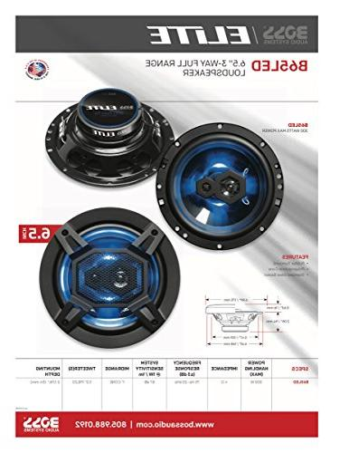 BOSS Elite Car Speakers, | Full