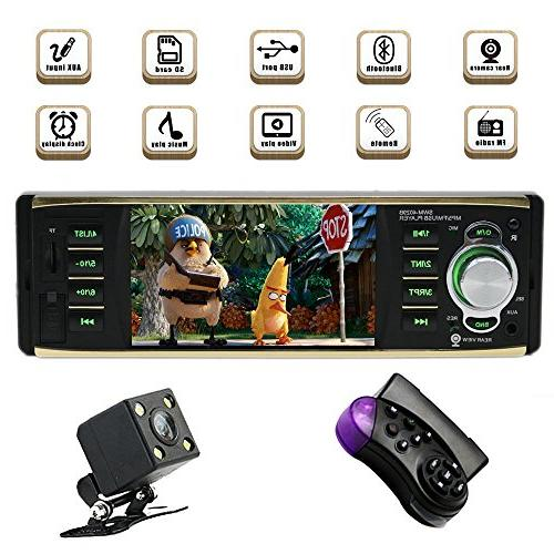single din bluetooth car stereo
