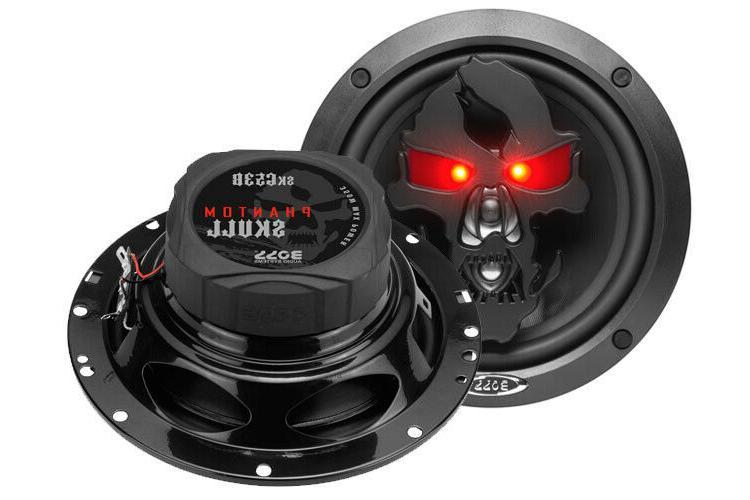 Boss SK653B Skull Speakers