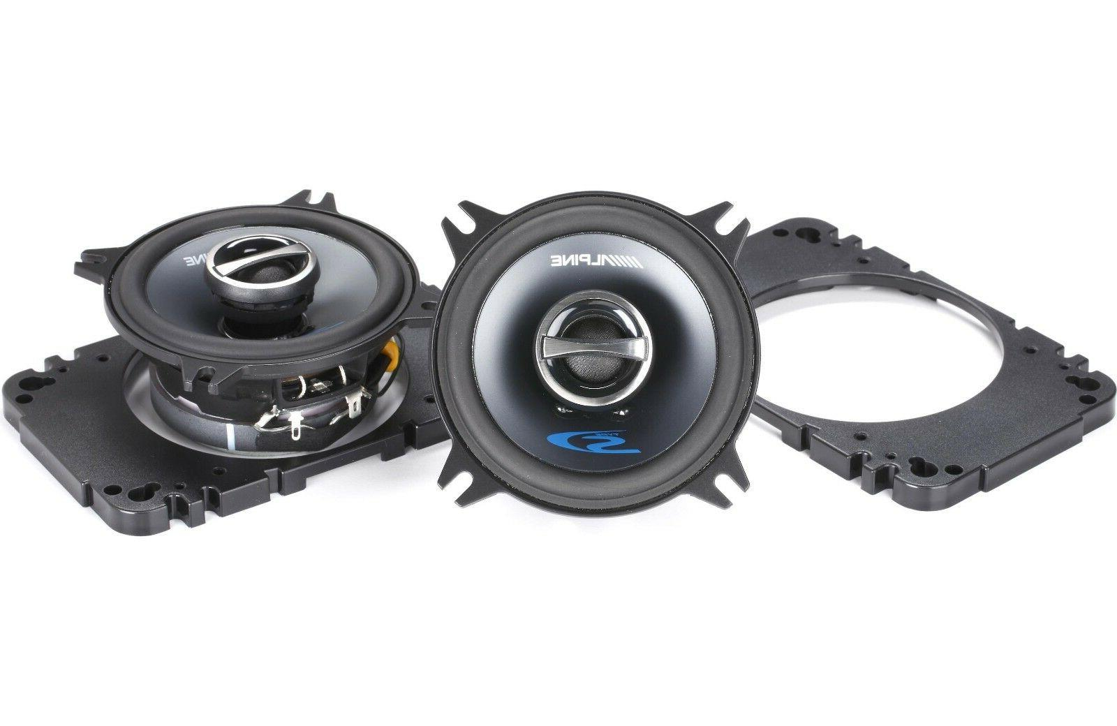 sps 410 4 car audio speakers 4