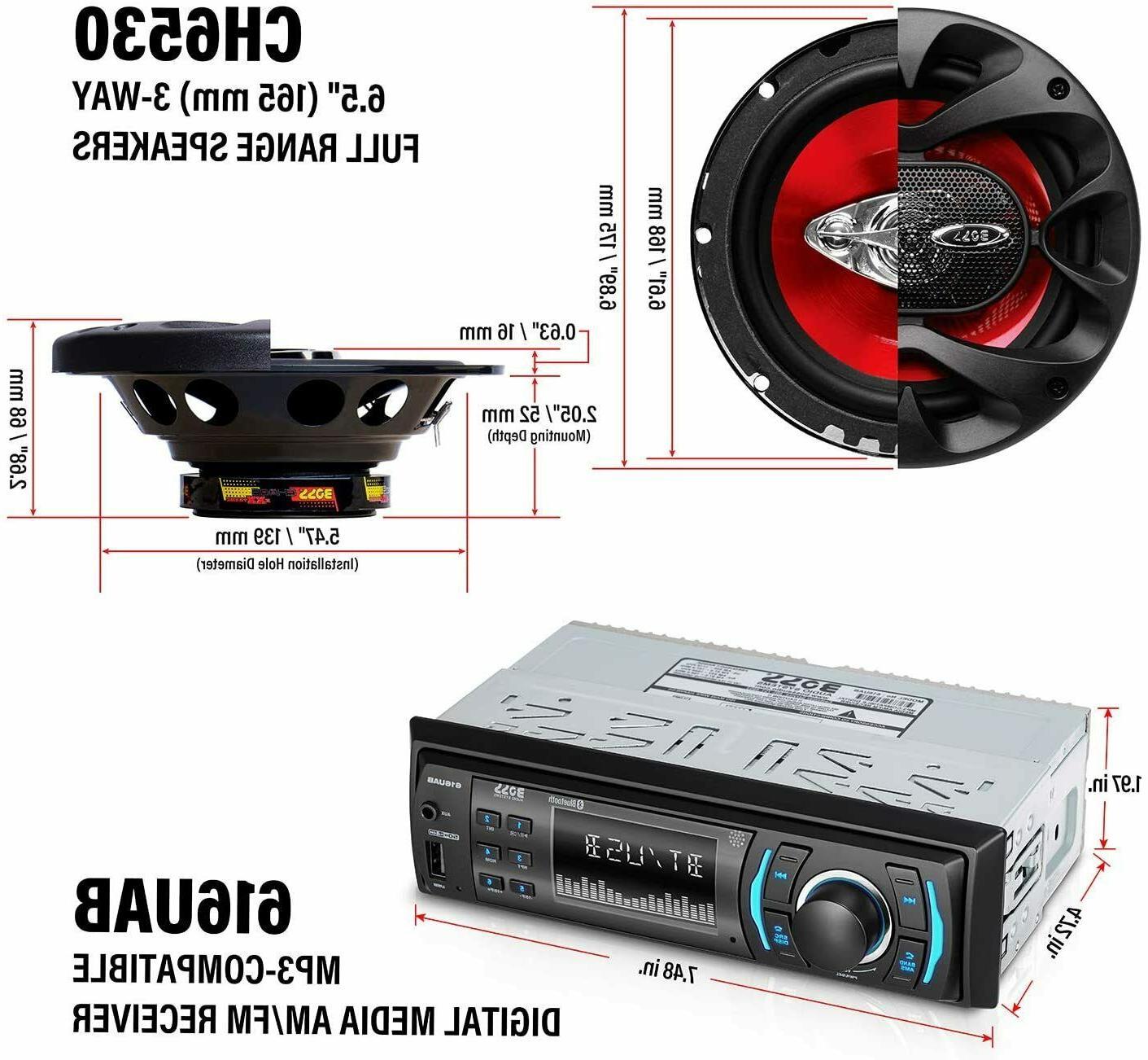 BOSS CH616 Car & Speakers