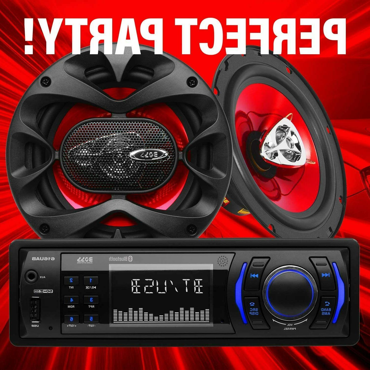BOSS Systems Car & Speakers Package