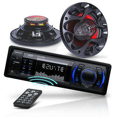systems ch616 car stereo and speakers package