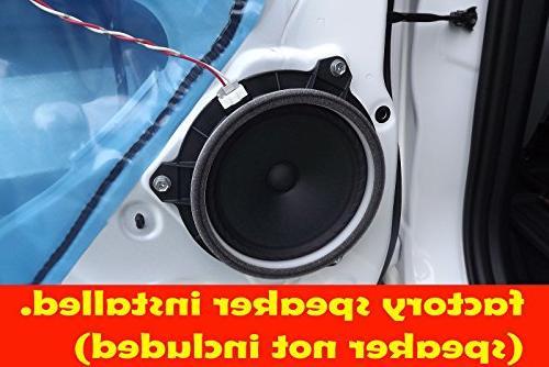 """Toyota Corolla & 2005-2015 6.5"""" Speaker Rings"""