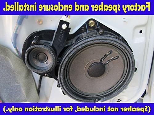 "Toyota Sequoia 2000-2006 Double Cab 6 1/2"" Speaker Rings -"