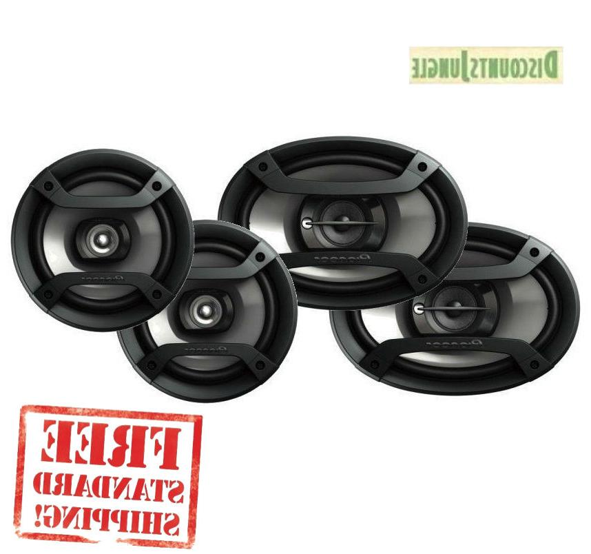 "PIONEER TS-695P 6X9"" 3 WAY AND TS-165P 6.5"" 2 WAY CAR AUDIO"