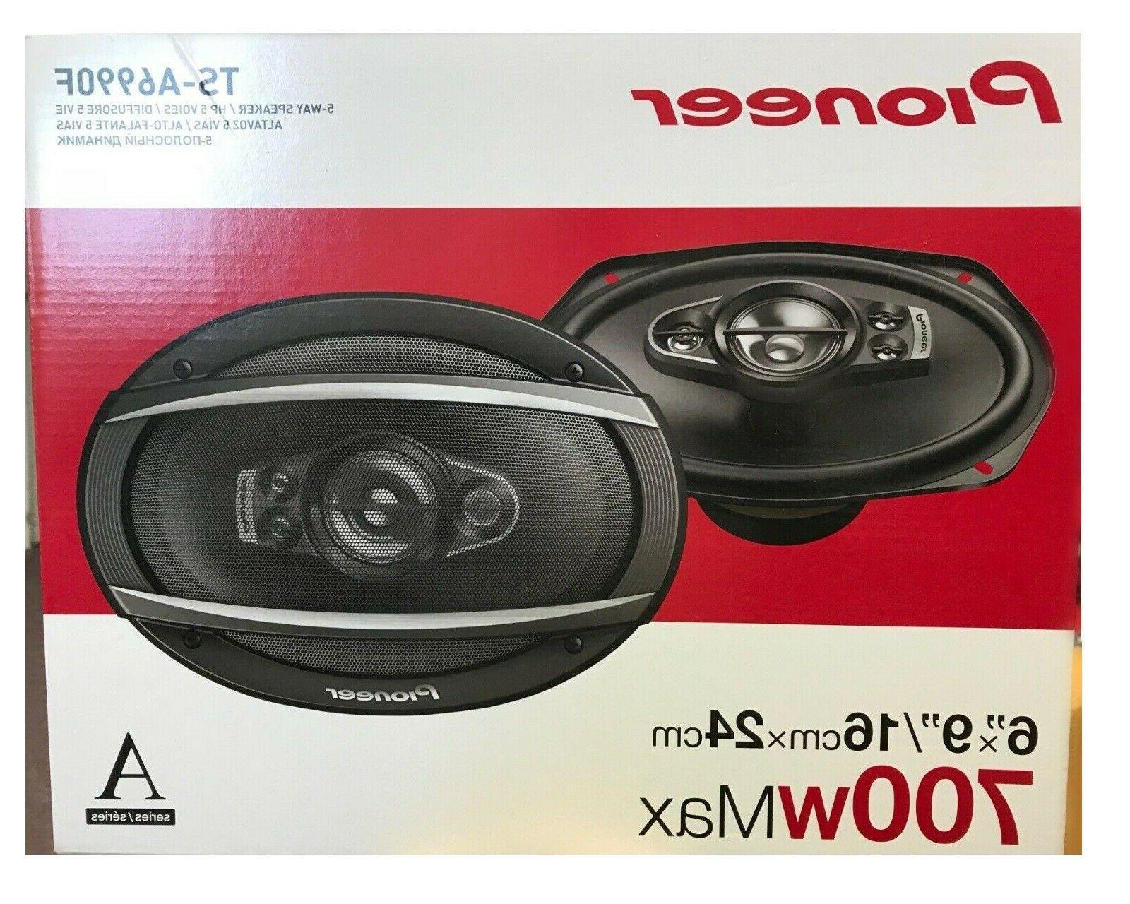 PIONEER TS-A6990F pair watts each 5-way x 9 car