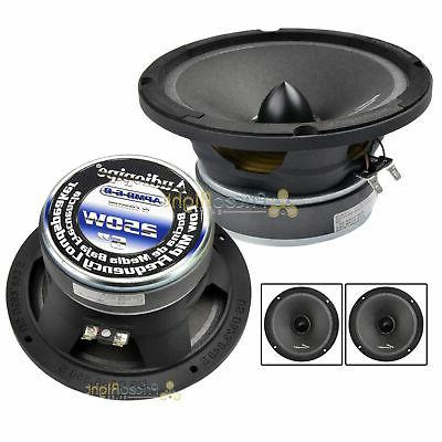 """Two Audiopipe APMB-6 6 - 6.5 """" 500w Low / Mid Frequency Car"""