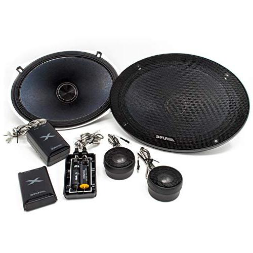 "ALPINE X-S69C 6""X9"" LOUD 360W TYPE-X COMPONENT SPEAKERS CROS"