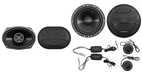 "Hifonics ZS65C 6.5"" 800w Component Car Speakers+ 6x9"" 800w C"