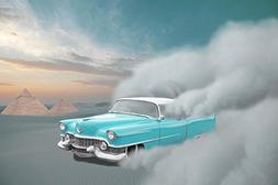 Gifts Delight LAMINATED 36x24 inches Poster: Car Cadillac De