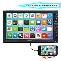 7 inch Linux System Double 2 DIN Touch Screen Stereo Player