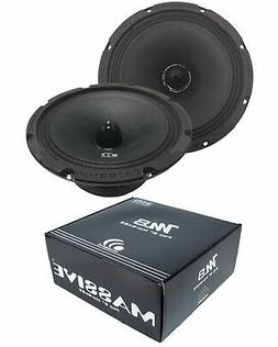 "Massive Audio M8 - 8"" Speaker Midrange 300W 150W RMS Open Ba"