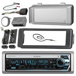 Kenwood Marine Radio Stereo Receiver Bundle, 1998 2013 Harle