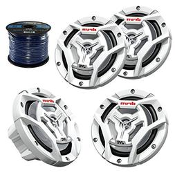 "Marine Speaker 6.5"" Inch 2-Way Marine Boat Yacht Outdoor Wat"