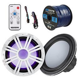 Marine Speaker & Sub Combo - Kicker KMW10 10-Inch RoHS Compl