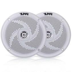 Pyle Marine Speakers - 5.25 Inch 2 Way Waterproof and Weathe