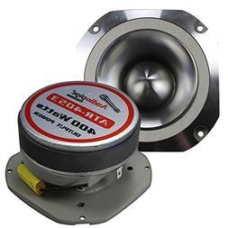 Audiopipe 400W MAX ALUMINUM TWEETER DIAMOND CHROME CUTTING F