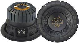 Lanzar MAX15D Max 15-Inch 1200 Watt Small Enclosure Dual 4 O