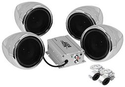 BOSS AUDIO MC450 Chrome 1000 watt Motorcycle/ATV Sound Syste