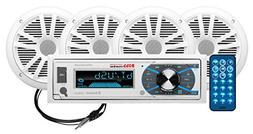 BOSS Audio MCK632WB.64 Marine Stereo Package - Bluetooth,  M