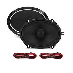 CT Sounds Meso 5x7 Inch 2-Way Silk Dome Coaxial Car Audio Co