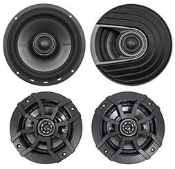 Polk Audio MM652 6.5 600 Watt Car Audio Speakers+ Kicker 5.
